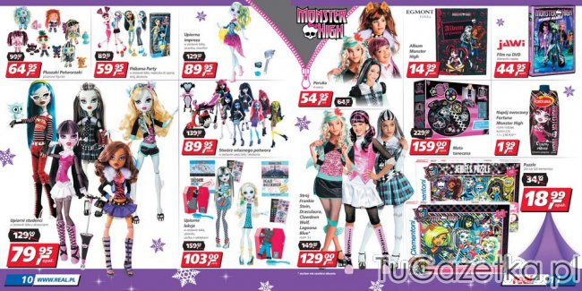 Lalki Monster High